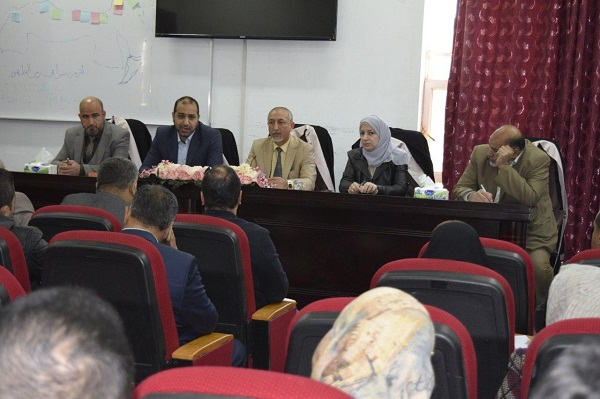 Prevention of the noval corona virus(nCoV), a scientific symposium held by the College of Veterinary Medicine at Kerbala University