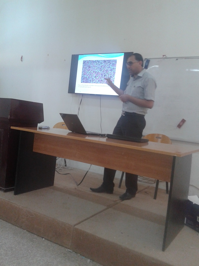 دراسة تشريحية ونسجيه لحيوان الجاموس