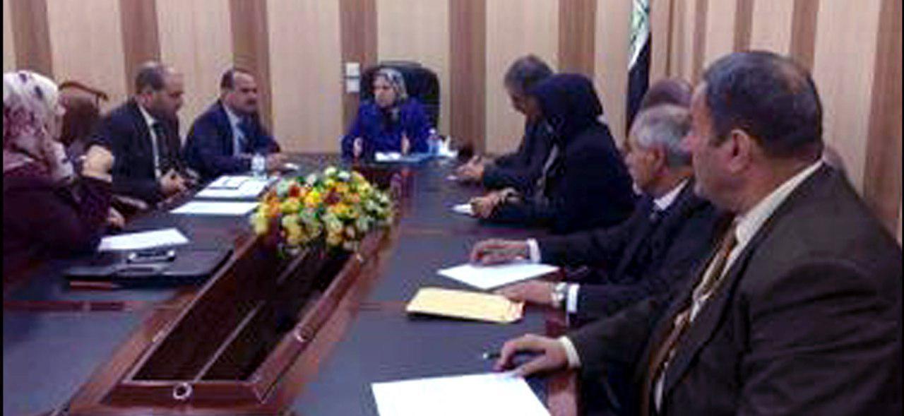 كلية الطب البيطري تشارك في الاجتماع الثاني لمجلس تحسين جودة الأداء لكليات الطب البيطري العراقية