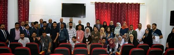 كلية الطب البيطري في جامعة كربلاء تستقبل وفد من نظيرتها في جامعة البصرة