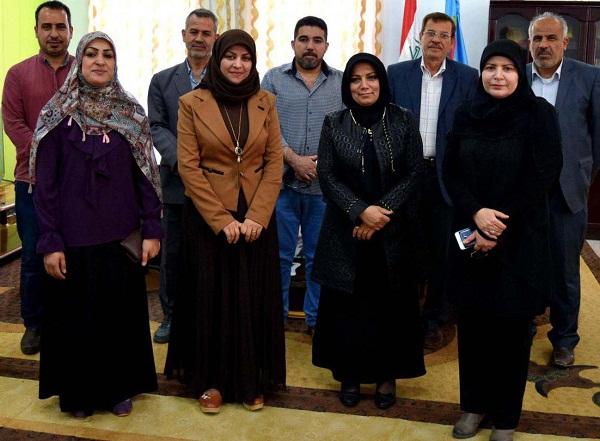 تعاون علمي بين كلية الطب البيطري في جامعة كربلاء والمعهد الفني/جامعة الفرات الأوسط