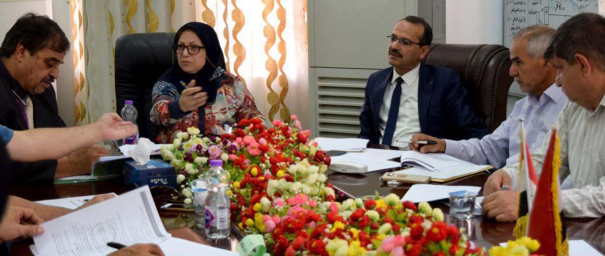 الطب البيطري في جامعة كربلاء تستضيف الاجتماع السابع لمجلس تحسين جودة الأداء لكليات الطب البيطري العراقية