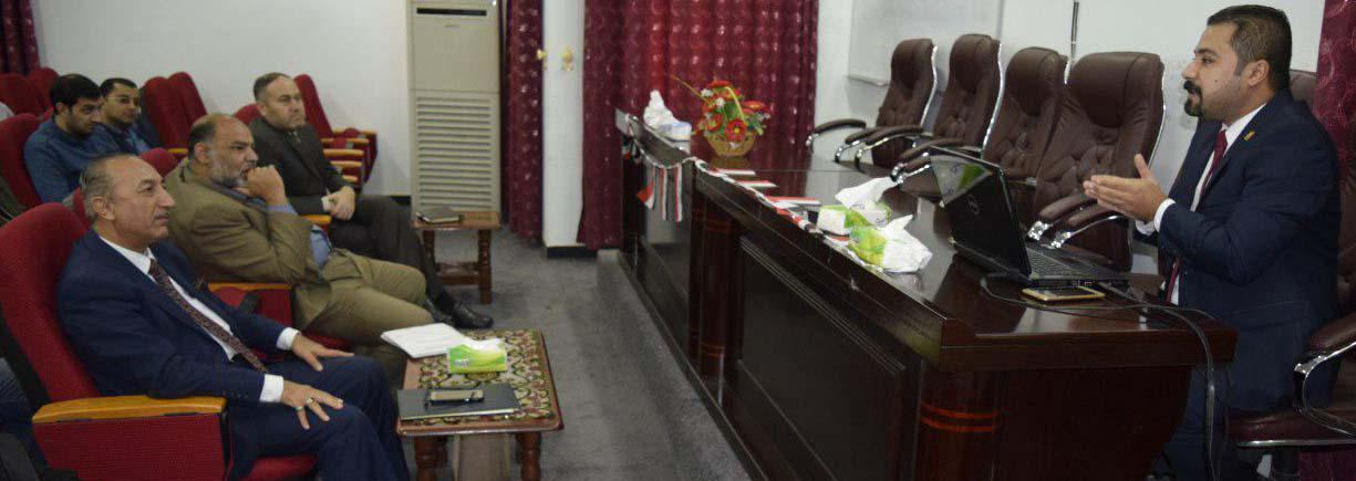 كلية الطب البيطري تنظم ندوة سلامة اللغة العربية في المخاطبات الرسمية بالدوائر الحكومية