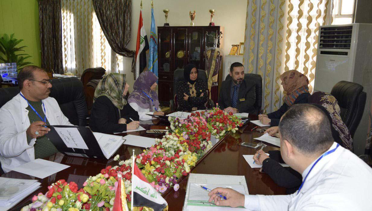 زيارة لجنة GLP الوزارية لكلية الطب البيطري بجامعة كربلاء