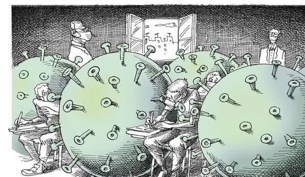 بمناسبة اليوم العالمي للتعليم والذي يصادف يوم 24 يناير  كلية الطب البيطري تطلق حملة تعليمنا لن يتوقف